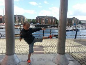 William kicking